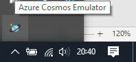 04_first_steps_in_Cosmos_DB_emulator_notification