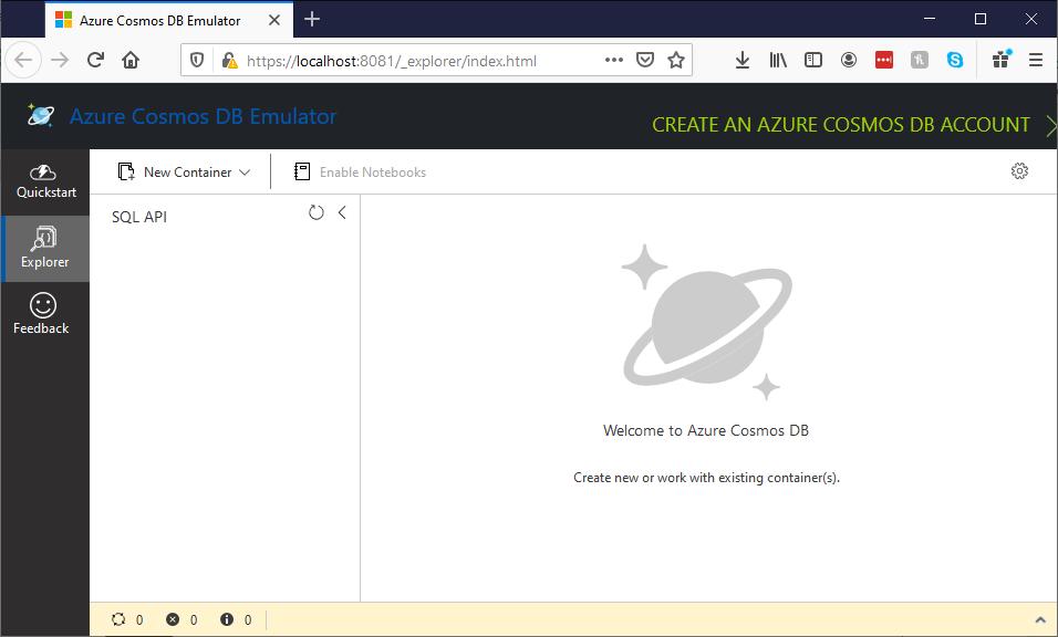 05_first_steps_in_Cosmos_DB_emulator_data_explorer