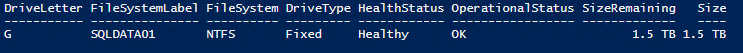 PowerShell_Volume_Created