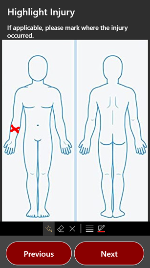 Highlighted Injury