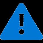 Azure Alert Icon