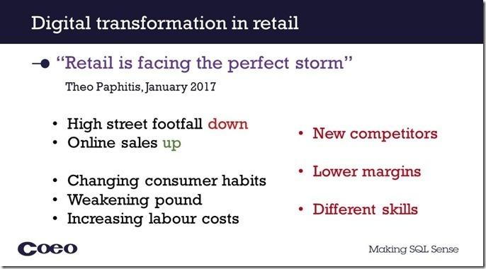 Making sense of data- Retail RT