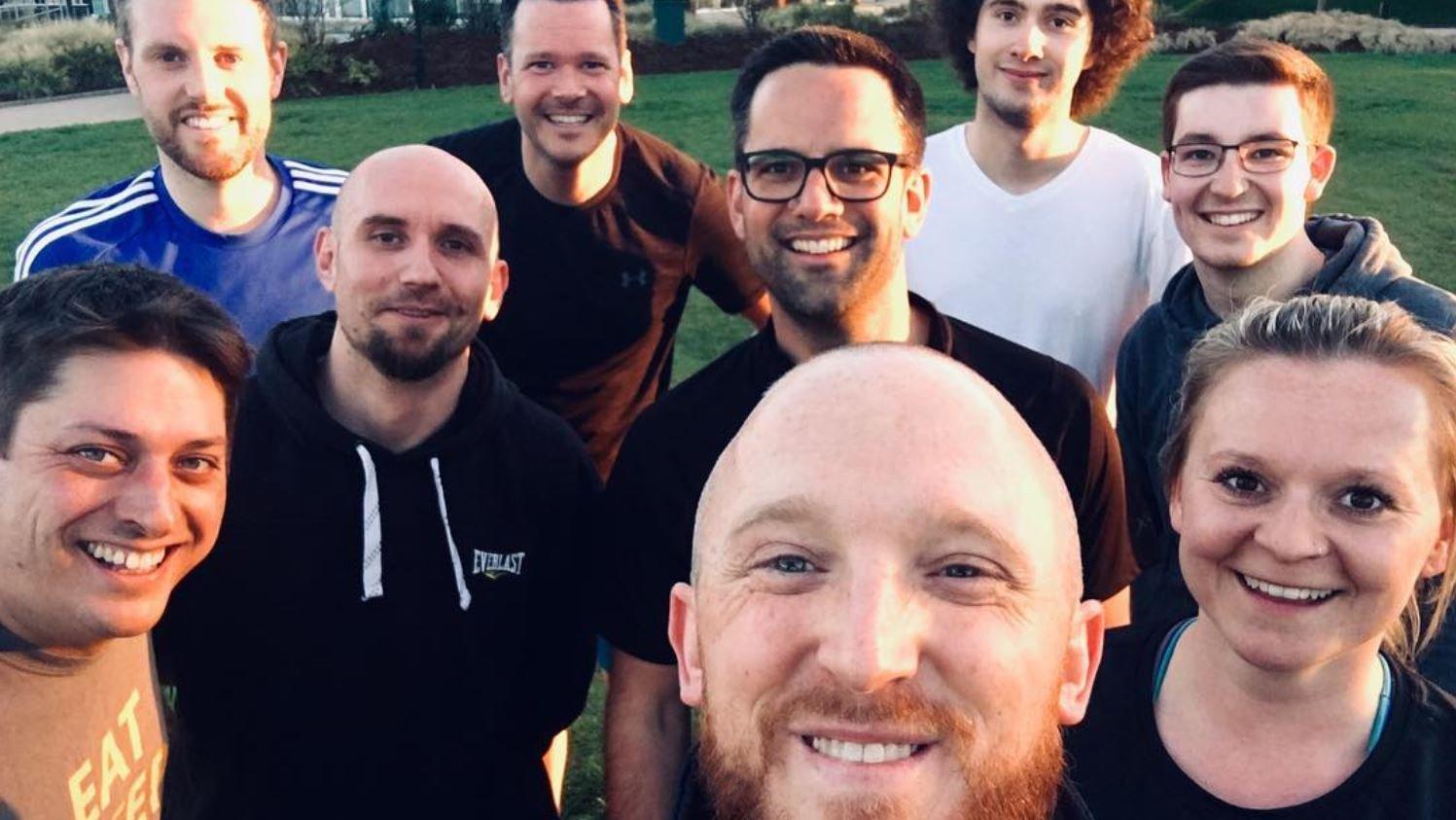 Coeo's running team